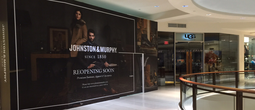 Johnston & murphy storefront