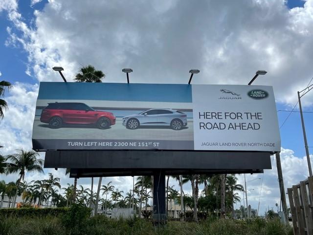 Miami Jaguar Billboard