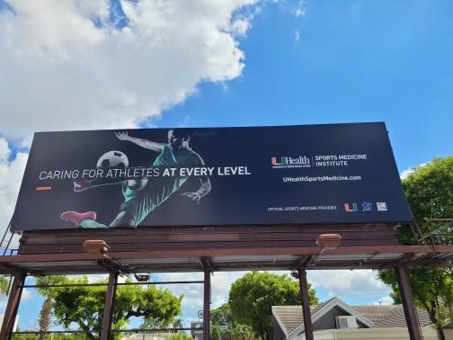 UMSports Billboard